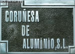 PLACA DE FUNDICIÓN ALUMINIO