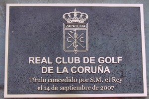 PLACA CLUB DE GOLF